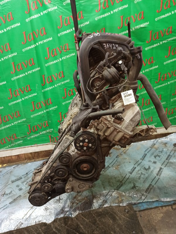 Двигатель Mercedes-Benz A-Class W169 M266.940 2009 (б/у) ПРОБЕГ-69000КМ. 2WD. КОСА+КОМП. ПОД А/Т. СТАРТЕР В КОМПЛЕКТЕ. WDD2452322J418076
