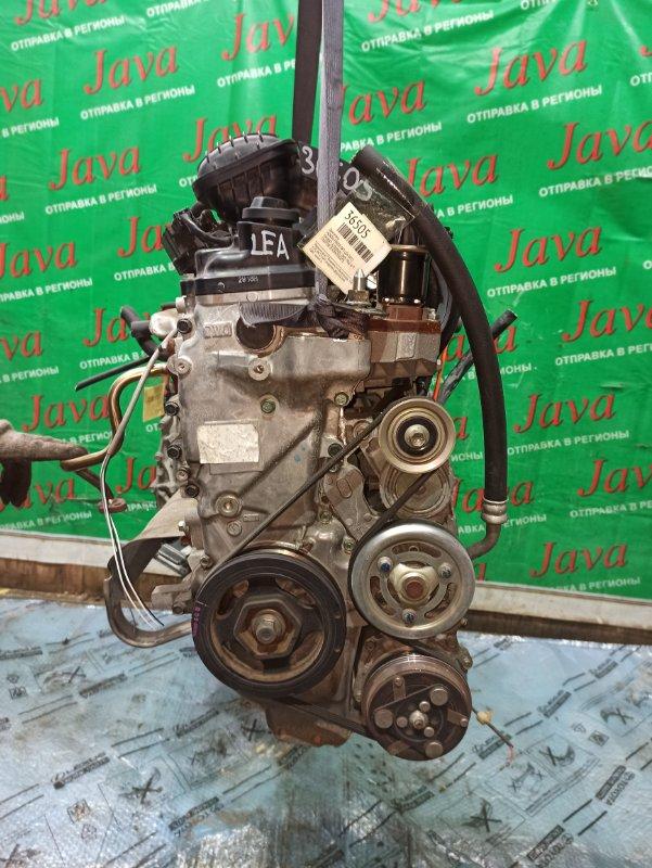 Двигатель Honda Freed GP3 LEA 2013 (б/у) ПРОБЕГ-32000КМ. 2WD. КОСА+КОМП. ПОД А/Т. СТАРТЕР В КОМПЛЕКТЕ.