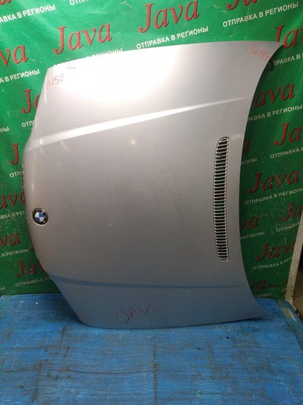 Капот Bmw 3-Series E46 M43B19 2001 передний (б/у) ПОТЕРТОСТИ. WBAAN92060NJ00501