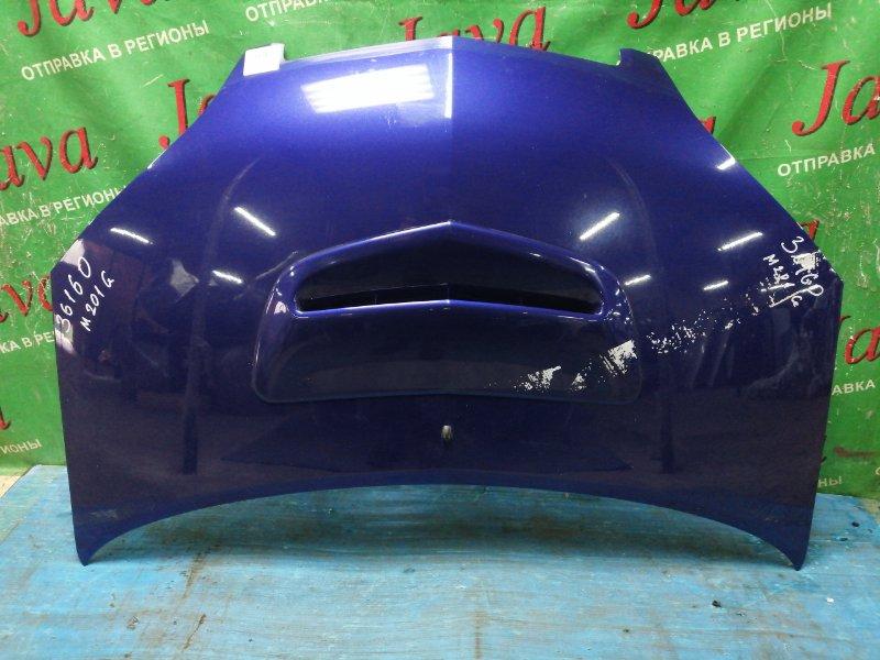Капот Daihatsu Yrv M201G K3-VE 2003 передний (б/у) ПОТЕРТОСТИ. СЛЕДЫ СКОТЧА