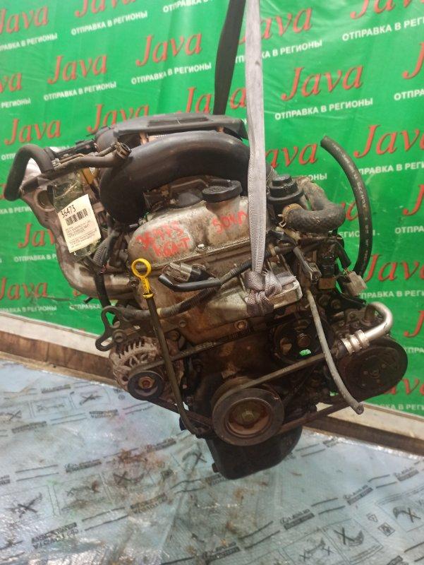 Двигатель Suzuki Wagon R MC22S K6A-T 2002 (б/у) ПРОБЕГ-50000КМ. 2WD. МЕХ.ЗАСЛОНКА. +КОМП. ПОД А/Т. СТАРТЕР В КОМПЛЕКТЕ.