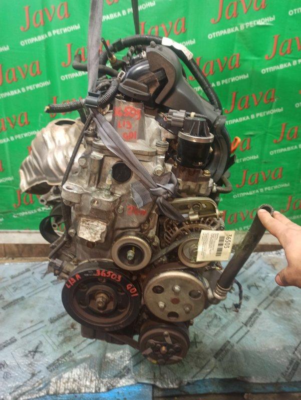 Двигатель Honda Fit GD1 L13A 2005 (б/у) ПРОБЕГ-21000КМ. 2WD. КОСА+КОМП. ПОД А/Т. СТАРТЕР В КОМПЛЕКТЕ.