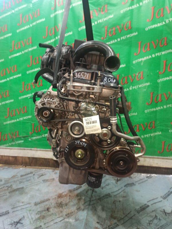 Двигатель Nissan Moco MG33S R06A 2013 (б/у) ПРОБЕГ-34000КМ. 2WD. +КОМП. ЭЛЕКТРО ЗАСЛОНКА. ПОД А/Т. СТАРТЕР В КОМПЛЕКТЕ.