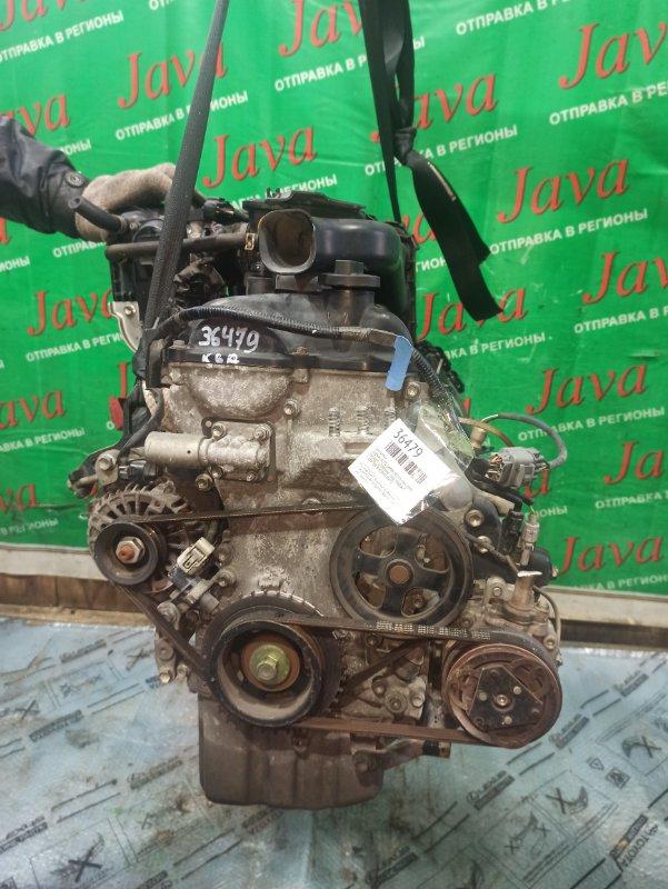 Двигатель Suzuki Alto Lapin HE22S K6A 2009 (б/у) ПРОБЕГ-57000КМ. 2WD. КОСА+КОМП. ЭЛЕКТРО ЗАСЛОНКА. ПОД А/Т. СТАРТЕР В КОМПЛЕКТЕ.