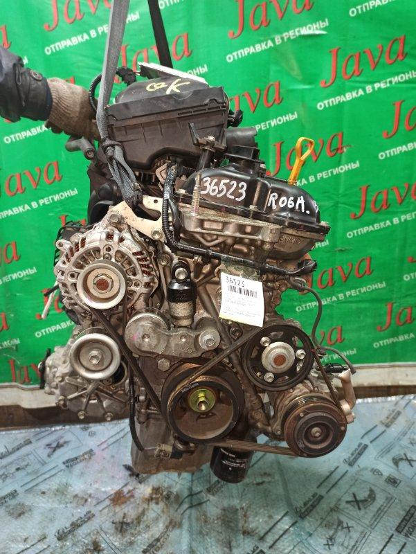 Двигатель Suzuki Hustler MR41S R06A 2015 (б/у) ПРОБЕГ-32000КМ. 4WD. +КОМП. ПОД А/Т. СТАРТЕР В КОМПЛЕКТЕ.