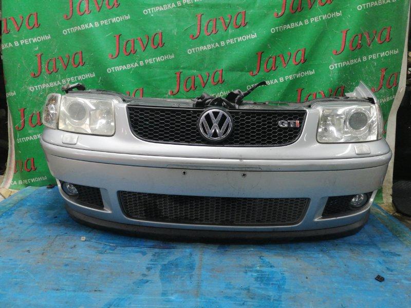 Ноускат Volkswagen Polo 6N2 ARC 2001 передний (б/у) GTI. КСЕНОН. ТУМАНКИ. ПОМ М/Т. WVWZZZ6NZ1D094780. ЛОМ КРЕПЛЕНИЯ ЛЕВОГО ПОВОРОТНИКА.
