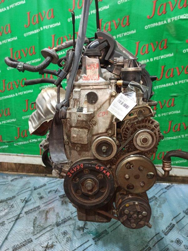 Двигатель Honda Fit GD1 L13A 2007 (б/у) ПРОБЕГ-63000КМ. 2WD. КОСА+КОМП.  ПОД А/Т. СТАРТЕР В КОМПЛЕКТЕ.