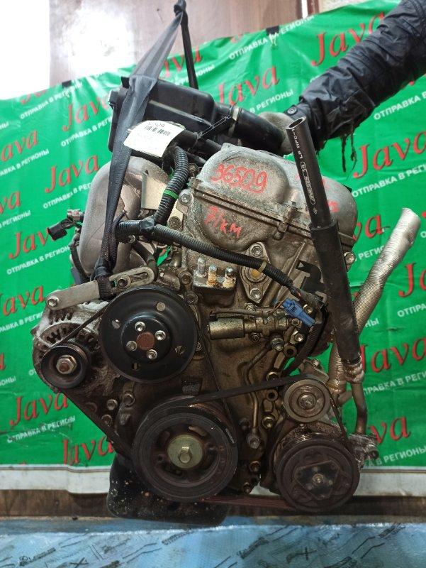 Двигатель Chevrolet Mw ME34S M13A 2006 (б/у) ПРОБЕГ-71000КМ. 2WD. +КОМП. МЕХ.ЗАСЛОНКА.  ПОД А/Т. СТАРТЕР В КОМПЛЕКТЕ.