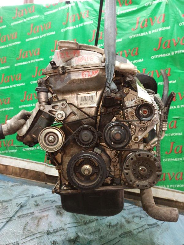 Двигатель Toyota Wish ZNE10 1ZZ-FE 2005 (б/у) ПРОБЕГ-62000КМ. 2WD. ЭЛЕКТРО ЗАСЛОНКА. +КОМП. ПОД А/Т. СТАРТЕР В КОМПЛЕКТЕ.
