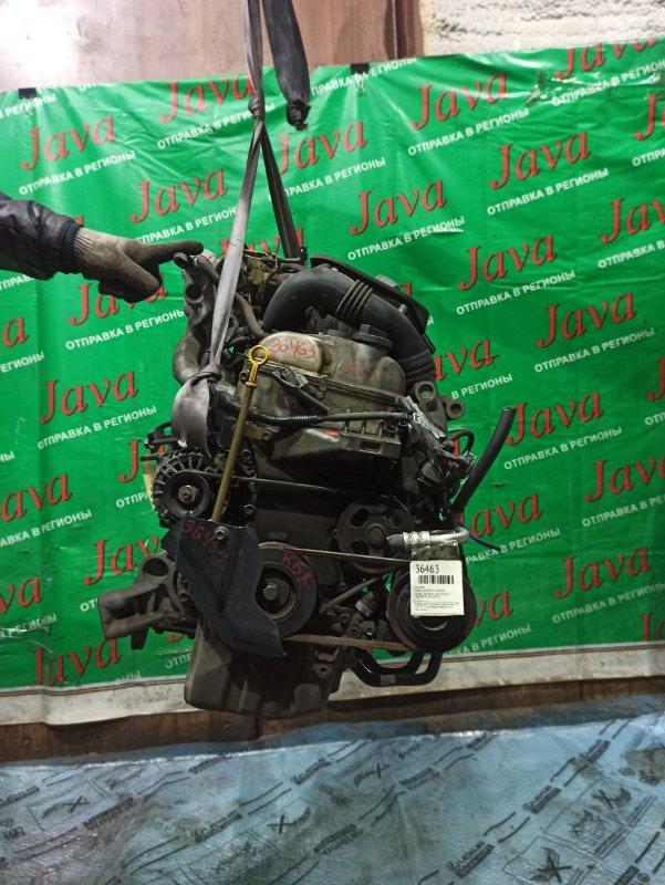 Двигатель Suzuki Kei HN22S K6A-T 2005 (б/у) ПРОБЕГ-53000КМ. 2WD. +КОМП. МЕХ.ЗАСЛОНКА. ПОД А/Т. СТАРТЕР В КОМПЛЕКТЕ.