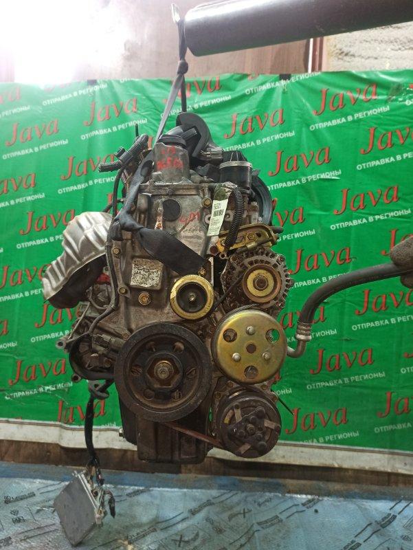 Двигатель Honda Fit GD1 L13A 2004 (б/у) ПРОБЕГ-49000КМ. 2WD. КОСА+КОМП.  ПОД А/Т. СТАРТЕР В КОМПЛЕКТЕ.