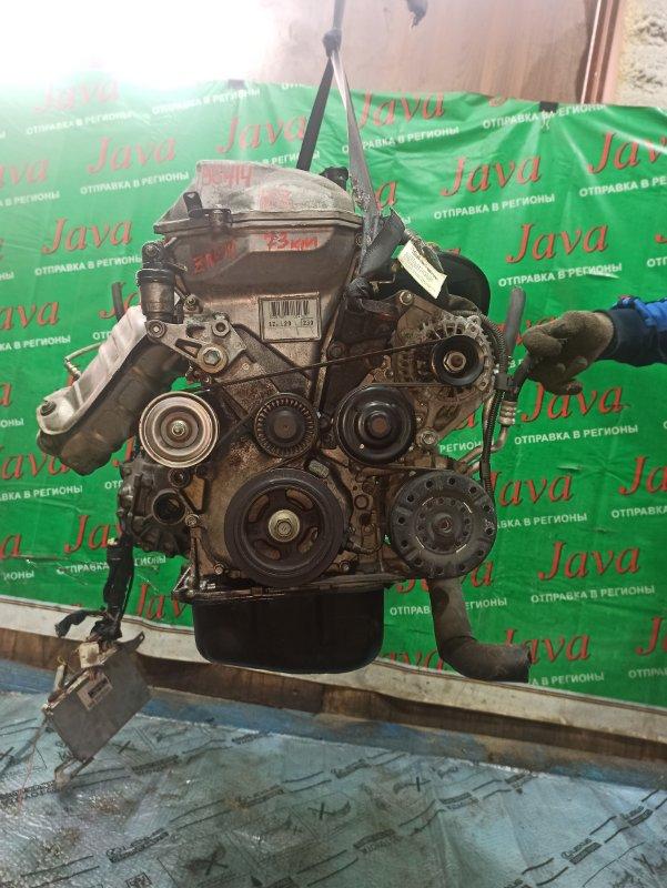 Двигатель Toyota Wish ZNE10 1ZZ-FE 2006 (б/у) ПРОБЕГ-73000КМ. 2WD. ЭЛЕКТРО ЗАСЛОНКА. +КОМП. ПОД А/Т. СТАРТЕР В КОМПЛЕКТЕ.