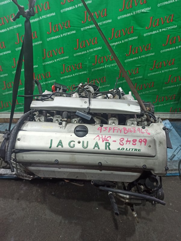 Двигатель Jaguar Xj X300 9JPFNB 1996 (б/у) 2WD. +КОМП. МЕХ.ЗАСЛОНКА. SAJJFKLD3BP778030