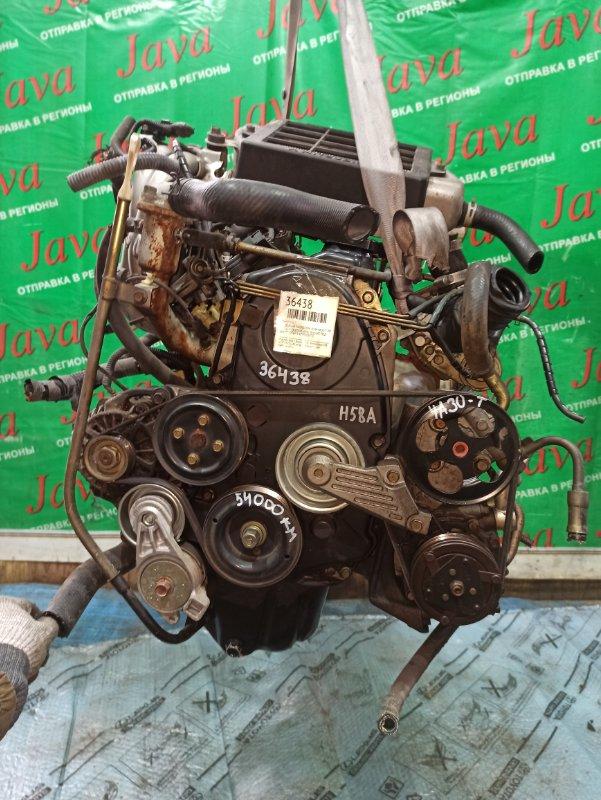 Двигатель Mitsubishi Pajero Mini H58A 4A30-T 2003 (б/у) ПРОБЕГ-54000КМ. 4WD. 16VALVE. +КОМП.  ПОД А/Т. СТАРТЕР В КОМПЛЕКТЕ.