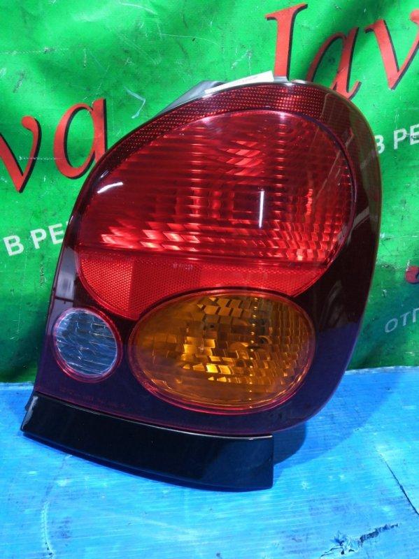 Стоп-сигнал Toyota Corolla Spacio AE111 4A-FE 1997 задний правый (б/у) 13-40. +ПЛАНКА