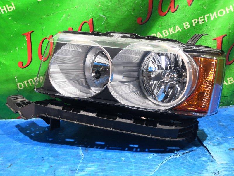Фара Honda Crossroad RT3 R20A 2008 передняя левая (б/у) 100-22697 XENON