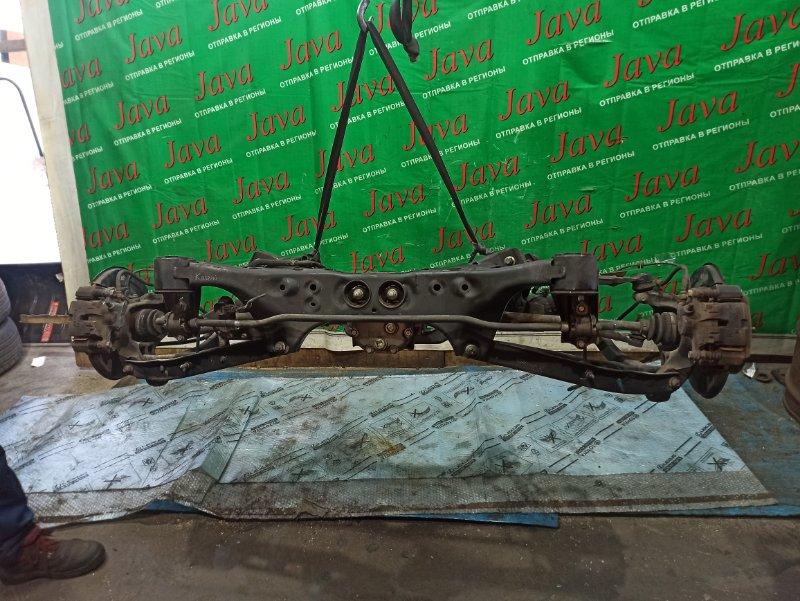Балка Subaru Forester SH5 EJ205 2008 задняя (б/у) 4WD. A/T. 4.111