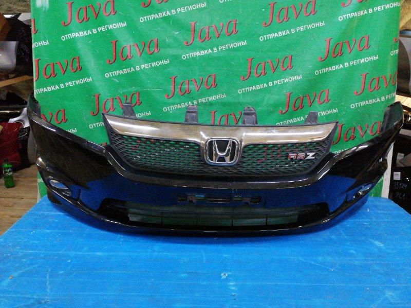 Бампер Honda Stream RN8 R20A 2006 передний (б/у) ПОТЕРТОСТИ. +РЕШЕТКА. ТУМАНКИ