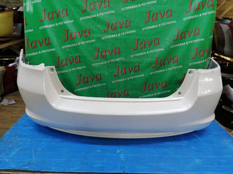 Бампер Honda Insight ZE2 LDA 2009 задний (б/у) ПОТЕРТОСТИ. ГУБА