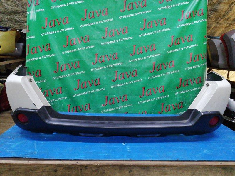 Бампер Nissan X-Trail NT31 MR20DE 2011 задний (б/у) ПОТЕРТОСТИ