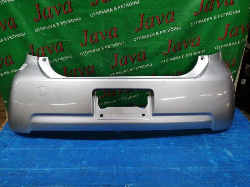 Бампер Toyota Passo KGC15 1KR-FE 2006 задний (б/у) ПОТЕРТОСТИ