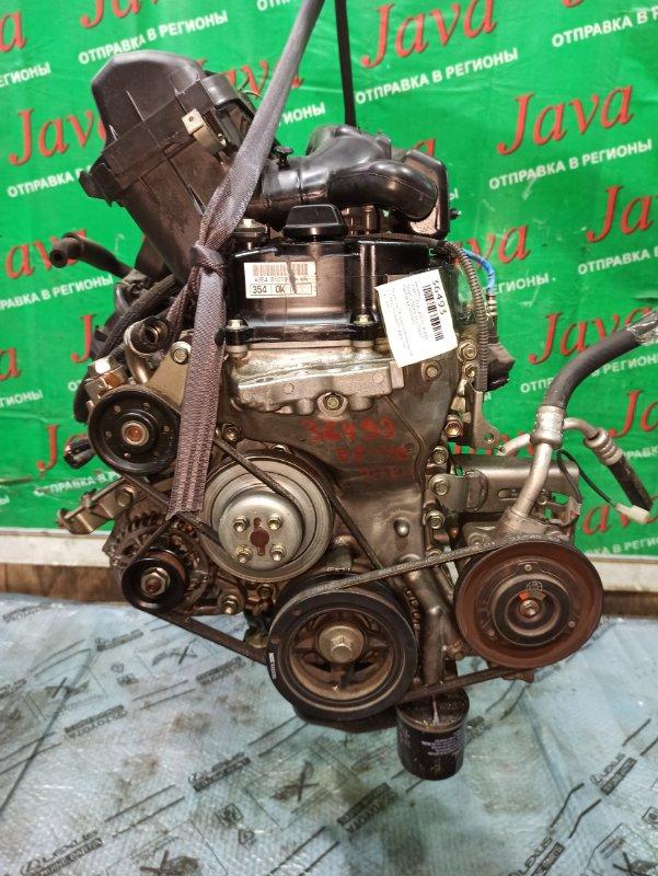 Двигатель Daihatsu Esse L235S KF-VE 2009 (б/у) ПРОБЕГ-27000КМ. 2WD. КОСА+КОМП. МЕХ.ЗАСЛОНКА. ПОД А/Т. СТАРТЕР В КОМПЛЕКТЕ.