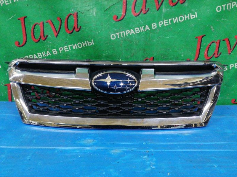 Решетка радиатора Subaru Legacy BMM FB25 2012 передняя (б/у) СЛЕДЫ СКОТЧА