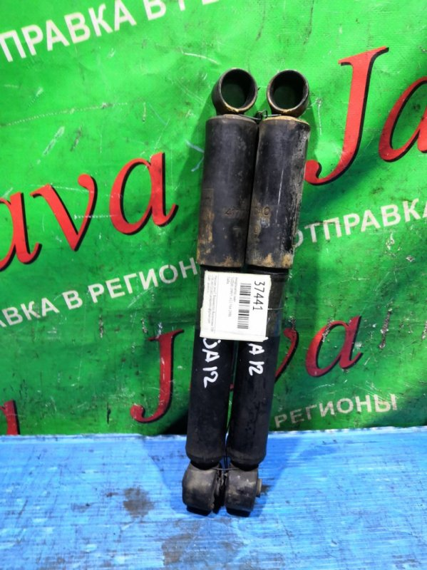 Амортизатор Suzuki Jimny JA12 F6A 1996 задний (б/у) ПАРА