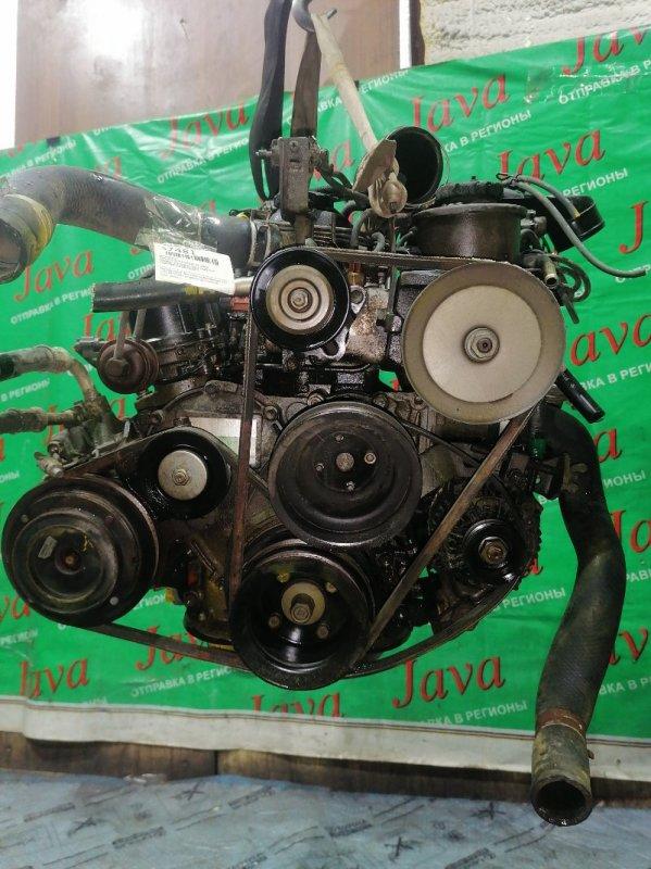 Двигатель Toyota Dyna YY131 3Y 1998 (б/у) ПРОБЕГ-65000КМ. 2WD. ПОД М/Т. БЕЗ СТАРТЕРА