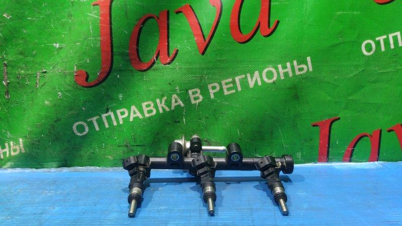 Топливная рейка Toyota Pixis Epoch LA300A KF-VE 2013 (б/у) 19500-132050. +ФОРСУНКИ