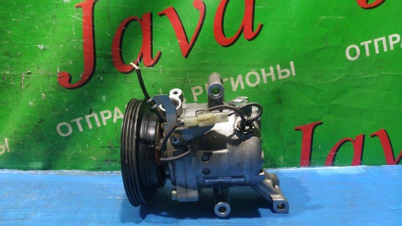 Компрессор кондиционера Toyota Pixis Epoch LA300A KF-VE 2013 (б/у) 447280-3450