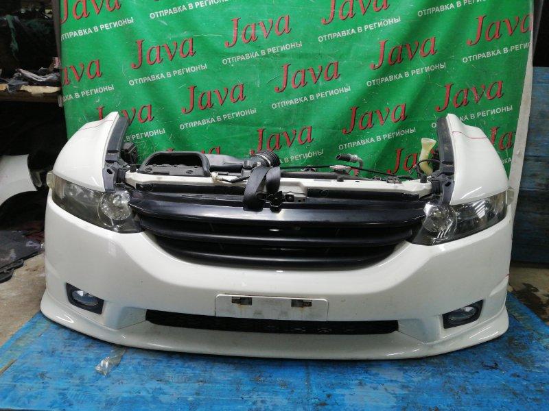 Ноускат Honda Odyssey RB1 K24A 2006 передний (б/у) КСЕНОН. ТУМАНКИ. ГУБА.