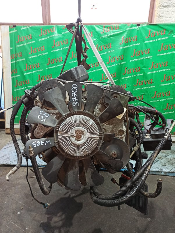 Двигатель Chevrolet Tahoe GMT 410 L31 1999 (б/у) ПРОБЕГ-58000КМ. 4WD. +КОМП. ПОД А/Т. СТАРТЕР В КОМПЛЕКТЕ. 1GNFK16R5XJ514115