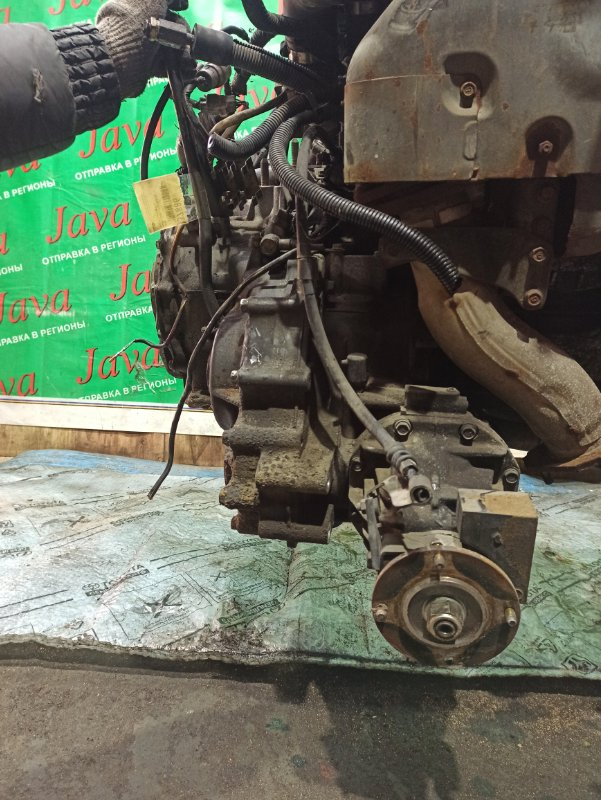 Акпп Mazda Capella GVFR RF 1996 (б/у) ПРОБЕГ-51000КМ. 4WD. 2 ПОДДОНА.