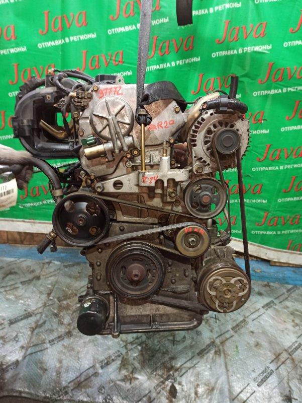 Двигатель Nissan Serena TC24 QR20DE 2003 (б/у) ПРОБЕГ-48000КМ. 2WD. КОСА+КОМП.  ПОД А/Т. СТАРТЕР В КОМПЛЕКТЕ.