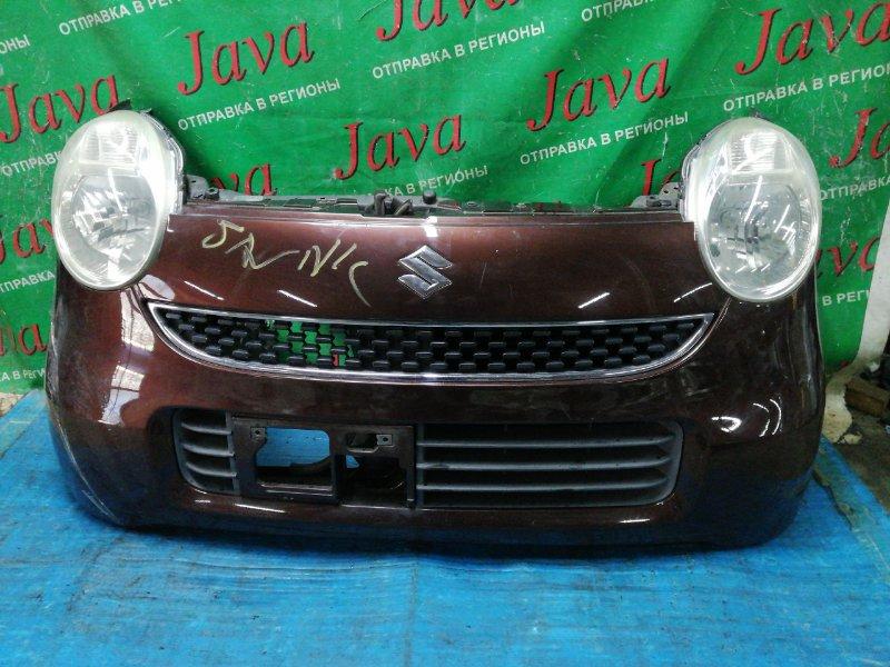 Ноускат Suzuki Mr Wagon MF22S K6A 2006 передний (б/у) ФАРЫ ГАЛОГЕН. ПОД А/Т.