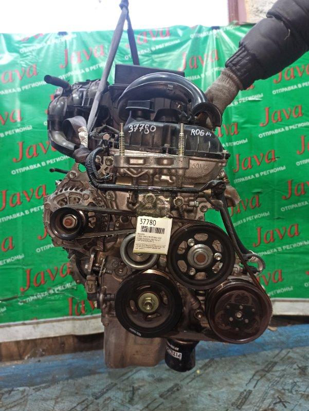 Двигатель Suzuki Spacia MK32S R06A 2014 (б/у) ПРОБЕГ-36000КМ. 2WD. +КОМП. ПОД А/Т. СТАРТЕР В КОМПЛЕКТЕ. ДЕФЕКТ ШКИВА КОМПРЕССОРА КОНДИЦИОНЕРА.