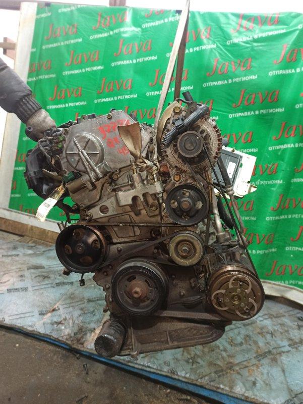 Двигатель Nissan Serena TC24 QR20DE 2004 (б/у) ПРОБЕГ-45000КМ. 2WD. КОСА+КОМП. ПЛАСТИКОВЫЙ КОЛЛЕКТОР.  ПОД А/Т. СТАРТЕР В КОМПЛЕКТЕ.