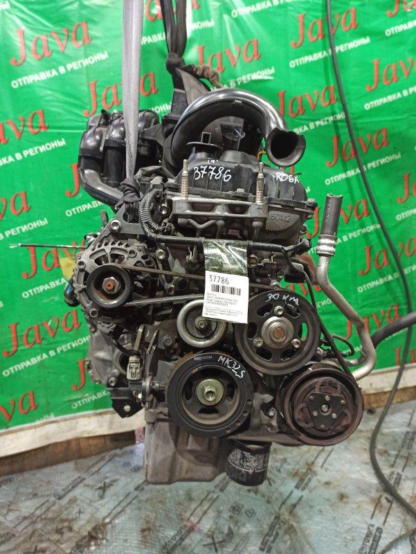 Двигатель Suzuki Spacia MK32S R06A 2014 (б/у) ПРОБЕГ-30000КМ. 2WD. +КОМП. ПОД А/Т. СТАРТЕР В КОМПЛЕКТЕ.