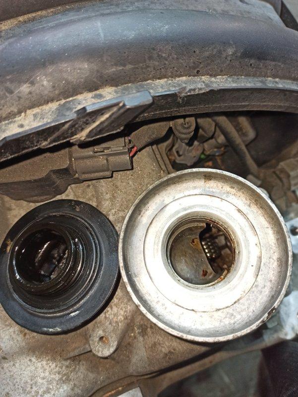 Двигатель Nissan Tiida Latio SC11 HR15DE 2008 (б/у) ПРОБЕГ-59000КМ. 2WD. КОСА+КОМП. ПОД А/Т. СТАРТЕР В КОМПЛЕКТЕ.