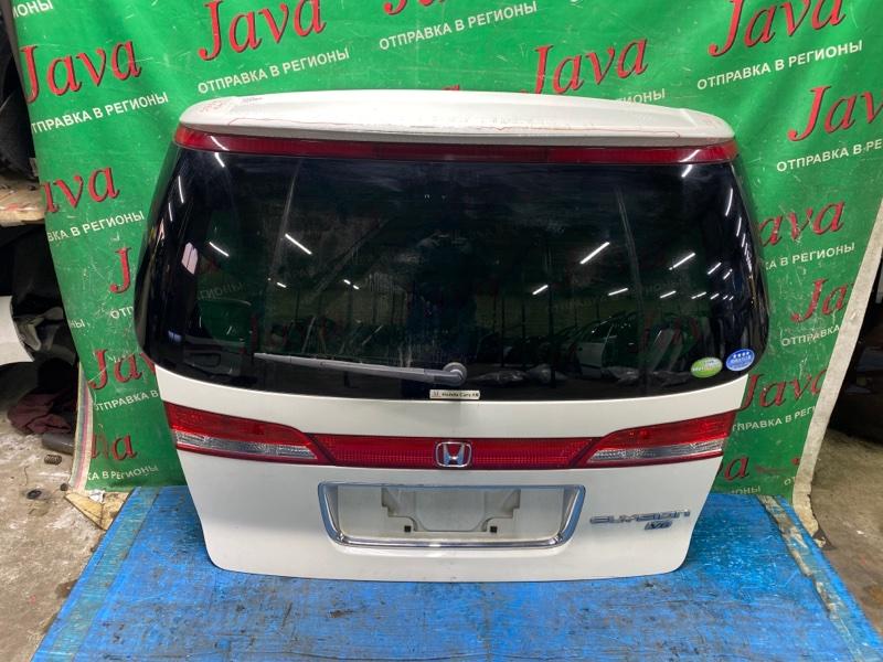 Дверь задняя Honda Elysion RR3 J30A 2008 задняя (б/у) 2-я МОДЕЛЬ. ПОТЕРТОСТИ. КАМЕРА, МЕТЛА. СПОЙЛЕР(ЛОМ)