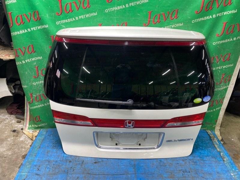 Дверь задняя Honda Elysion RR1 K24A 2008 задняя (б/у) 2-я МОДЕЛЬ. ПОТЕРТОСТИ. МЕТЛА. КАМЕРА. СПОЙЛЕР