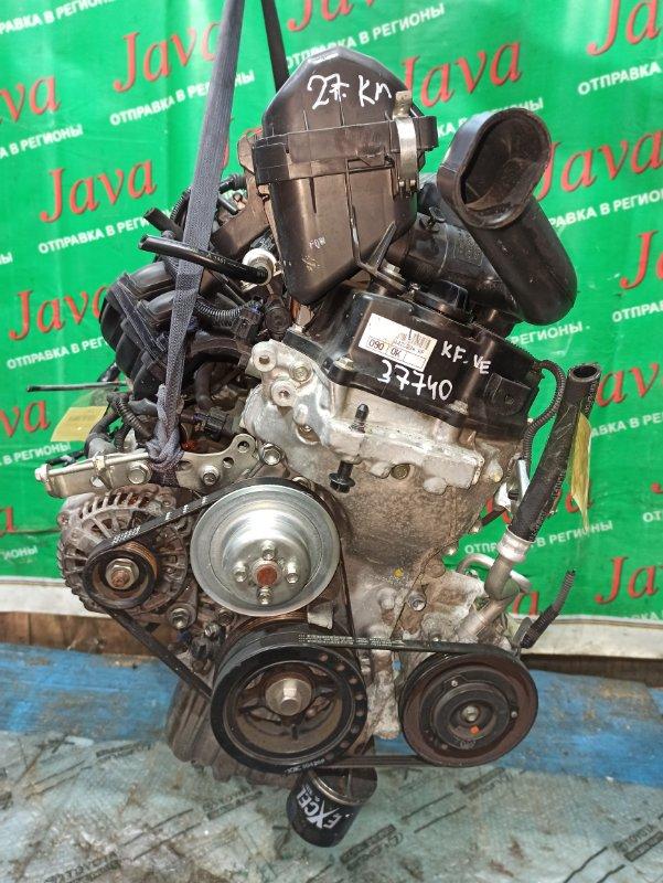 Двигатель Daihatsu Mira E:s LA300S KF-VE 2013 (б/у) ПРОБЕГ-27000КМ. 2WD. +КОМП.  ПОД А/Т. СТАРТЕР В КОМПЛЕКТЕ.