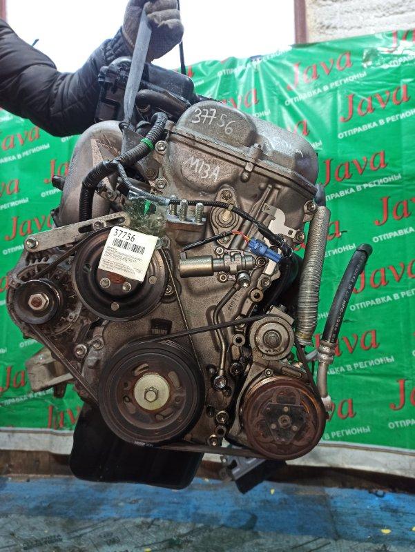 Двигатель Chevrolet Cruze HR52S M13A 2005 (б/у) ПРОБЕГ-50000КМ. 2WD. +КОМП. МЕХ.ЗАСЛОНКА. ПОД А/Т. СТАРТЕР В КОМПЛЕКТЕ.
