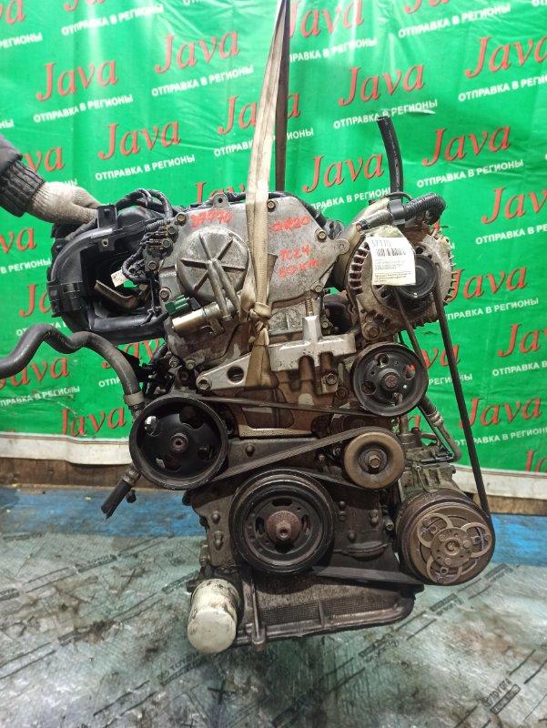 Двигатель Nissan Serena TC24 QR20DE 2002 (б/у) ПРОБЕГ-60000КМ. 2WD. ПЛАСТИКОВЫЙ КОЛЛЕКТОР. КОСА+КОМП. ПОД А/Т. СТАРТЕР В КОМПЛЕКТЕ.