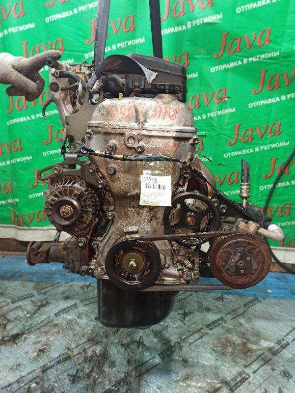 Двигатель Suzuki Wagon R Wide MB61S K10A 1997 (б/у) ПРОБЕГ-51000КМ. +КОМП. МЕХ.ЗАСЛОНКА. 4WD. ПОД А/Т. СТАРТЕР В КОМПЛЕКТЕ.
