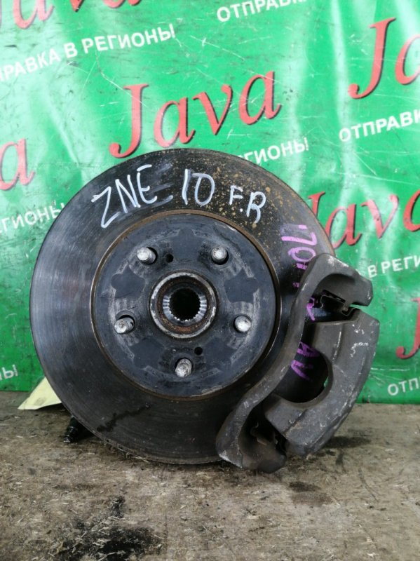 Ступица Toyota Wish ZNE10 1ZZ-FE 2006 передняя правая (б/у) 2WD. ABS. +ШАРОВАЯ