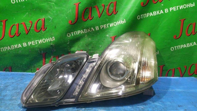 Фара Toyota Mark Ii Blit GX110 1G-FE 2005 передняя левая (б/у) XENON. СКОЛ КРЕПЛЕНИЯ(ЦЕЛОЕ). 22-336