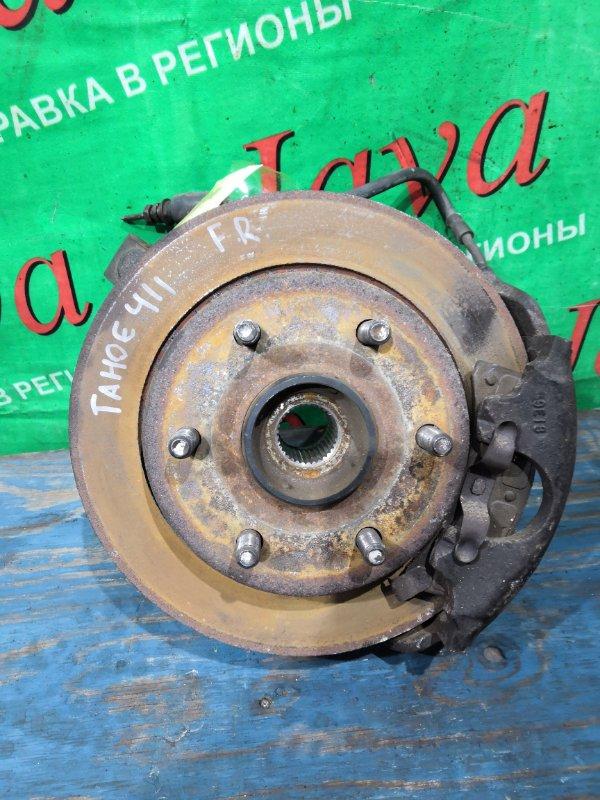 Ступица Chevrolet Tahoe GMT 410 L31 1999 передняя правая (б/у) 4WD. 1GNFK16R5XJ514115