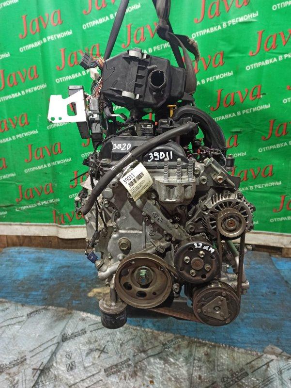 Двигатель Nissan Dayz B21W 3B20 2014 (б/у) ПРОБЕГ-32000КМ. КОСА+КОМП. 2WD. ПОД А/Т. СТАРТЕР В КОМПЛЕКТЕ. ТРЕЩИНА НА КЛАПАННОЙ КРЫШКЕ.